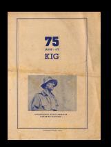 75 Jahre/let KIG