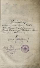 I.                    Carl VI. – Maria Theresia<br />I.                    Charles VI. - Maria Theresa