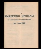 Bollettino ufficiale del Comitato popolare circondariale dell'Istria per l'anno 1951