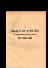 Bollettino ufficiale del Comitato popolare circondariale dell'Istria per l'anno 1952