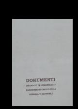 Dokumenti organov in organizacij narodnoosvobodilnega gibanja v Sloveniji<br />Knjiga 11<br />Zapisniki sej najvišjih organov in organizacij 1942-1945