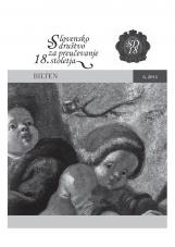 Bilten, 2014, št. 6<br />Slovensko društvo za proučevanje 18. stoletja