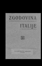 Zgodovina Italije<br />S posebnim ozirom na italijansko probujenje