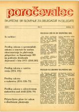 Poročevalec Skupščine SR Slovenije za delegacije in delegate, 1975, št. 2