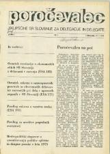 Poročevalec Skupščine SR Slovenije za delegacije in delegate, 1975, št. 1