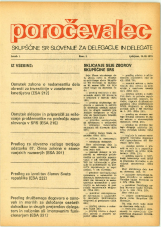 Poročevalec Skupščine SR Slovenije za delegacije in delegate, 1975, št. 3