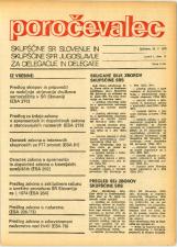 Poročevalec Skupščine SR Slovenije in Skupščine SFR Jugoslavije za delegacije in delegate, 1975, št. 11