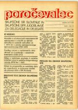 Poročevalec Skupščine SR Slovenije in Skupščine SFR Jugoslavije za delegacije in delegate, 1975, št. 13