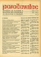 Poročevalec Skupščine SR Slovenije in Skupščine SFR Jugoslavije za delegacije in delegate, 1975, št. 19