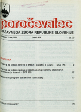 Poročevalec Državnega zbora Republike Slovenije, 1993, št. 10