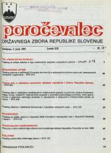 Poročevalec Državnega zbora Republike Slovenije, 1993, št. 13