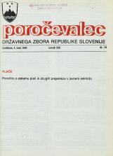 Poročevalec Državnega zbora Republike Slovenije, 1993, št. 14