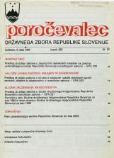 Poročevalec Državnega zbora Republike Slovenije, 1993, št. 15