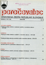 Poročevalec Državnega zbora Republike Slovenije, 1993, št. 18