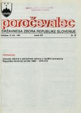 Poročevalec Državnega zbora Republike Slovenije, 1993, št. 19