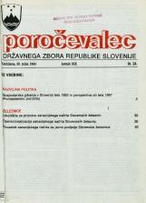 Poročevalec Državnega zbora Republike Slovenije, 1993, št. 24