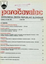 Poročevalec Državnega zbora Republike Slovenije, 1993, št. 25