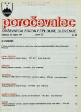 Poročevalec Državnega zbora Republike Slovenije, 1993, št. 26