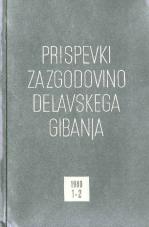 Prispevki za zgodovino delavskega gibanja, 1980, št. 1-2