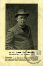 Janez Evangelist Krek (1865–1917) - Sto let pozneje (1917–2017)