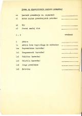 45 popisov premoženja po shemi<br />Meščanski kapital<br />Delo za 1971 do 1. maja 1971<br />Shema za ekscerpiranje popisov premoženj