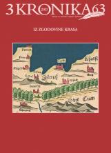 Kronika, 2015, št. 3<br />Iz zgodovine Krasa<br />Kronika, 2015, no. 3