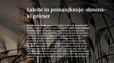 Lakote in pomanjkanje: slovenski primer<br />Dearth and Famines: Case of Slovenia