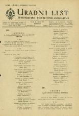 Uradni list Demokratske federativne Jugoslavije, 1945, št. 25