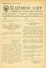 Službeni list Demokratske federativne Jugoslavije, 1945, št. 62