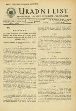 Uradni list Federativne ljudske republike Jugoslavije, 1945, št. 99