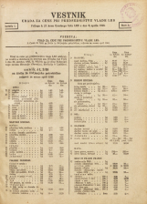 Vestnik urada za cene pri predsedništvu Vlade LRS, 1946, št. Številka 1<br />Priloga k 27. kosu Uradnega lista LRS z dne 6. aprila 1946.