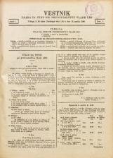 Vestnik urada za cene pri predsedništvu Vlade LRS, 1946, št. Številka 3<br />Priloga k 29. kosu Uradnega lista LRS z dne 13. aprila 1946.