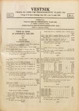 Vestnik urada za cene pri predsedništvu Vlade LRS, 1946, št. Številka 9<br />Priloga k 35. kosu Uradnega lista LRS z dne 11. maja 1946.
