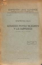 Rezultati popisa vajencev v LR Sloveniji : po stanju z dne 15. maja 1946.<br />Statistika dela