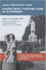 Javna predstavitev baze Vojaške žrtve prve svetovne vojne na Slovenskem