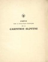 Cartes sur la structure ethnique de la Carinthie Slovene