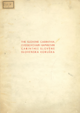 The Slovene Carinthia<br />Carinthie Slovène<br />Словенская Каринтия<br />Slovenska Koruška