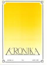 Kronika, 1993, št. 2<br />Kronika, 1993, No. 2