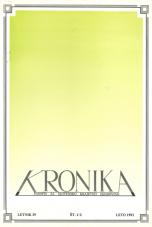 Kronika, 1991, št. 1-2<br />Kronika, 1991, No. 1-2