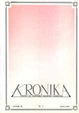 Kronika, 1990, št. 3<br />Kronika, 1990, No. 3