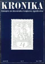 Kronika, 1987, št. 3