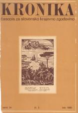 Kronika, 1986, št. 3