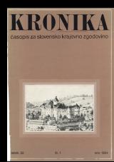Kronika, 1984, št. 1