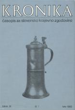 Kronika, 1983, št. 1