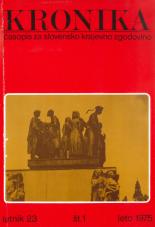 Kronika, 1975, št. 1