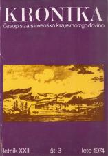 Kronika, 1974, št. 3