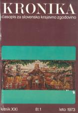 Kronika, 1973, št. 1