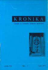 Kronika, 1972, št. 2