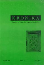 Kronika, 1972, št. 3