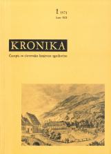 Kronika, 1971, št. 1